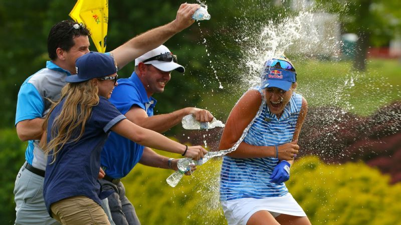 Image result for lexi thompson wins the kingsmill