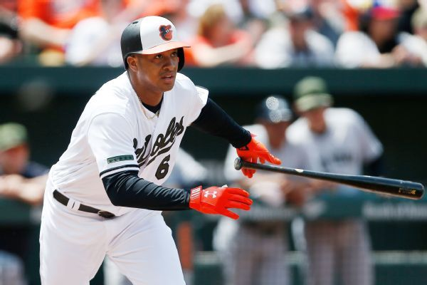 Orioles 2B Jonathan Schoop scratched with elbow bursitis