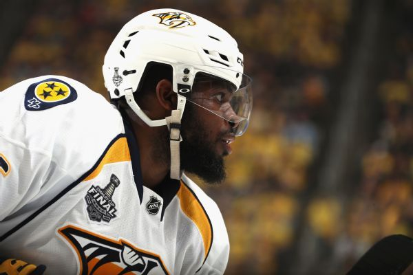 Trade rumors aside, P.K. Subban wants to remain with Predators