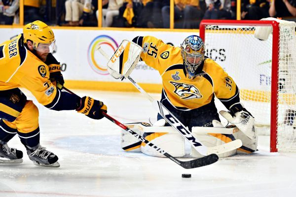 Pekka Rinne goes on injured reserve after collision