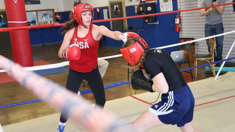 With help from her dad, 14-year-old boxing phenom has sights set on 2020 Olympics
