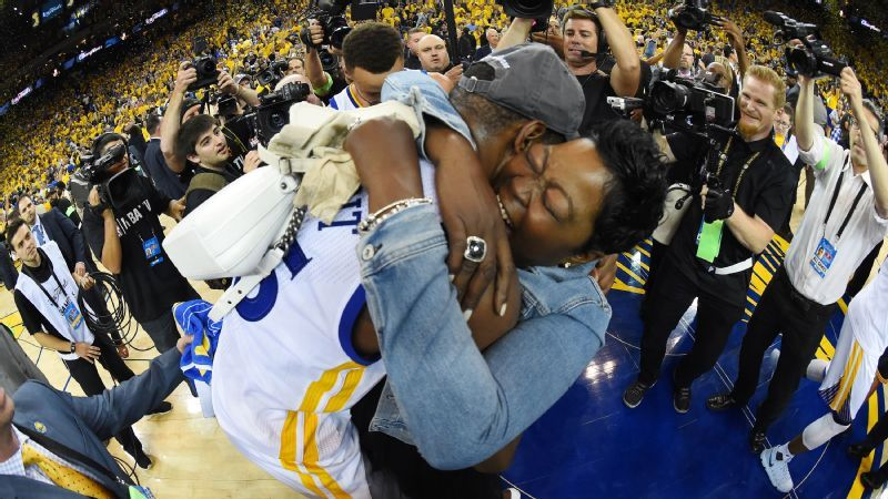 80b77a9e5e95 Wanda Durant on her son Kevin Durant s NBA championship  He s  the best  player in the world