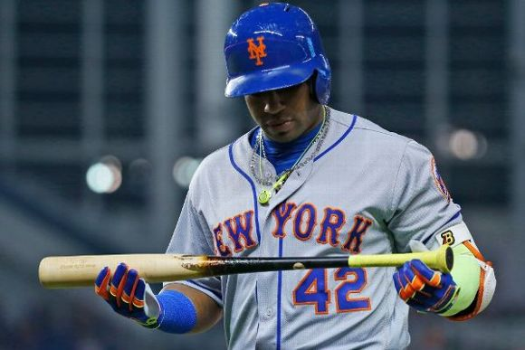 Why ask why, Yoenis, you're a Met.