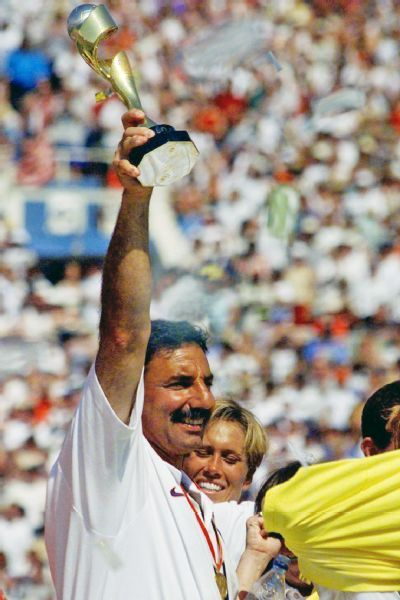 The 99ers will never forget coach Tony DiCicco, who reminded them often, 'I love my job!'