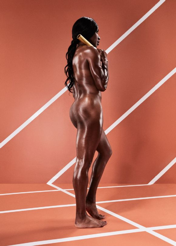 Novlene Williams-Mills, Body Issue