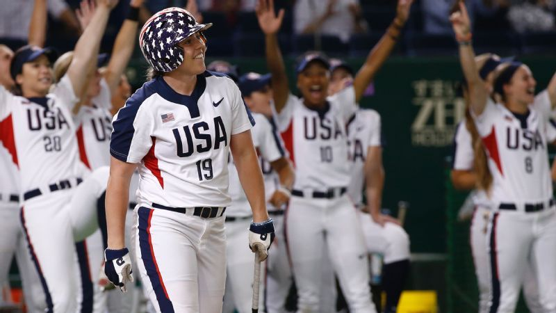 U S  softball team for 2020 Olympics begins to take form this week