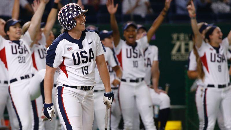 U S  softball team for 2020 Olympics begins to take form