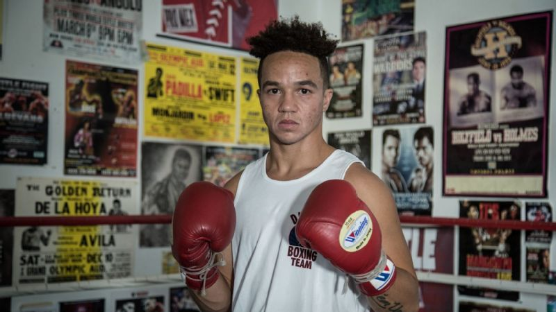 Boxer Pat Manuel is featured in the Olympic Channel's Identify.