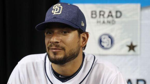 Brad Hand -- San Diego Padres