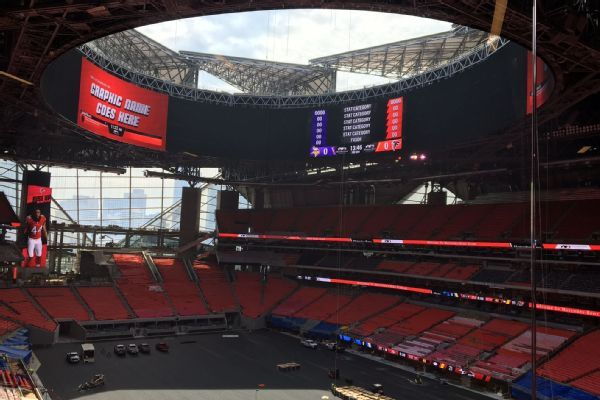 NFL wants roof open for next season's Super Bowl in Atlanta