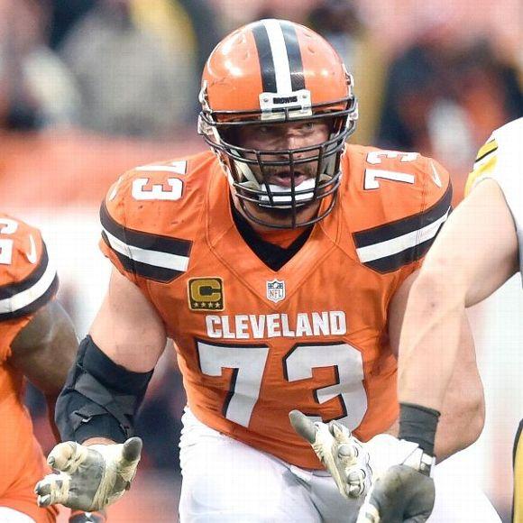 Cleveland Browns' Joe Thomas