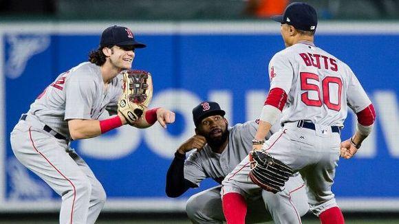 Red Sox celebrate