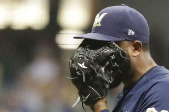Jeremy Jeffress -- Milwaukee Brewers