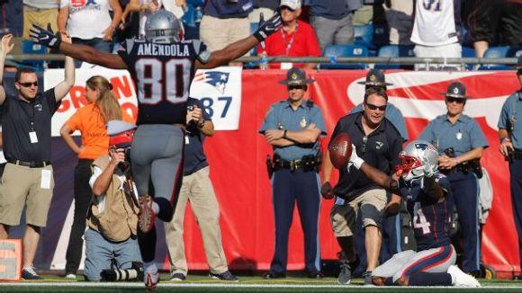 Brandin Cooks, New England Patriots, 2017