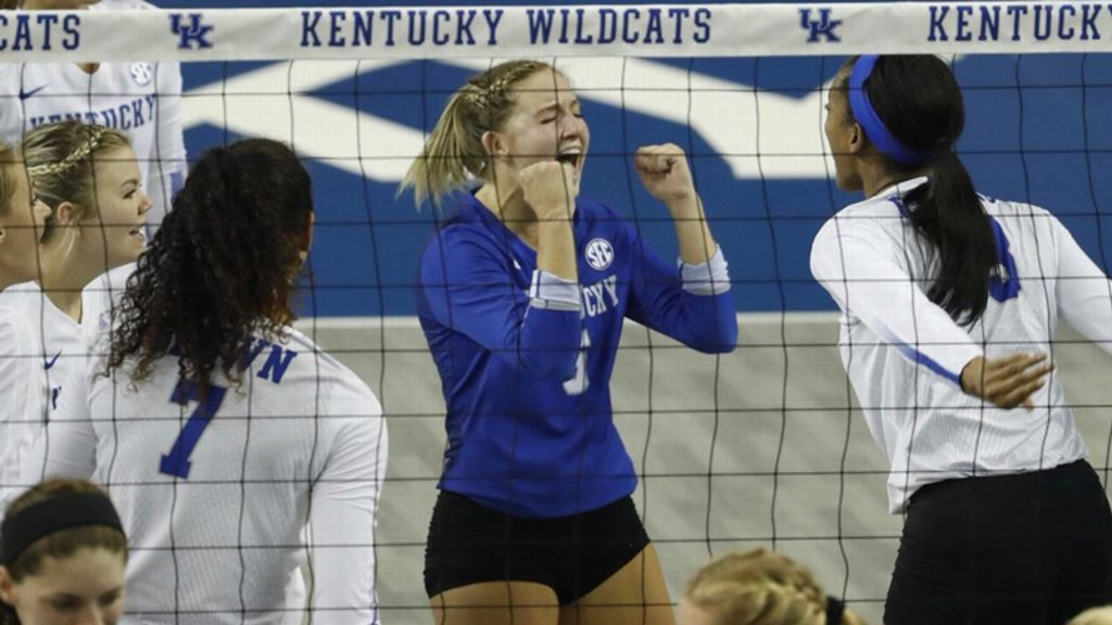 Serving leads No. 10 Kentucky to sweep of LSU