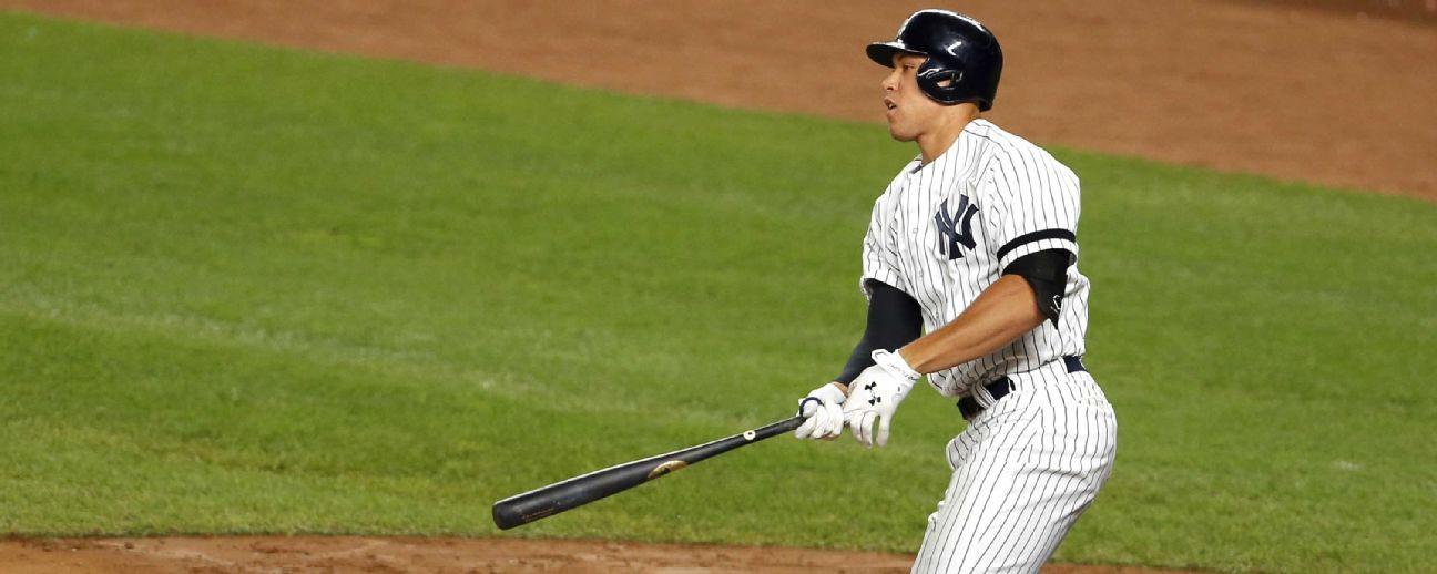 Aaron Judge regresa a la alineación de los Yankees por primera vez desde julio