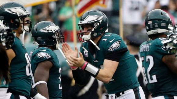 Carson Wentz, Philadelphia Eagles, 2017, NFL