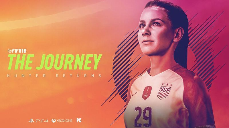 FIFA 18 Offers A Playable Woman Character In Story Mode For The First Time