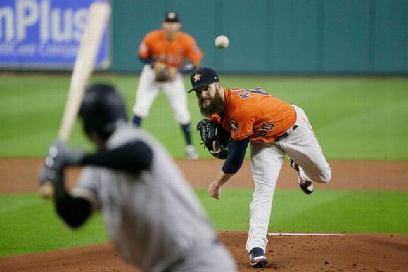 Dallas Keuchel -- Houston Astros