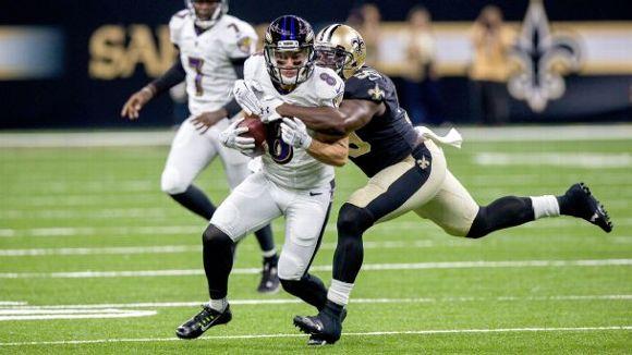 Baltimore Ravens wide receiver Griff Whalen