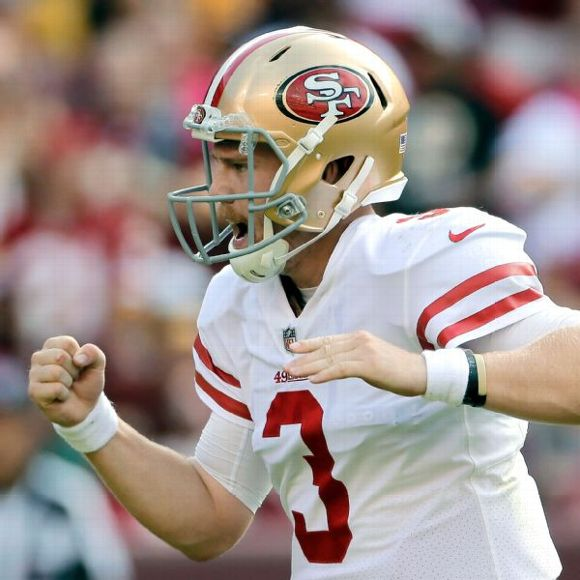 San Francisco 49ers quarterback C.J. Beathard