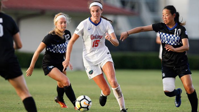 No. 20 Florida beats Kentucky 2-0