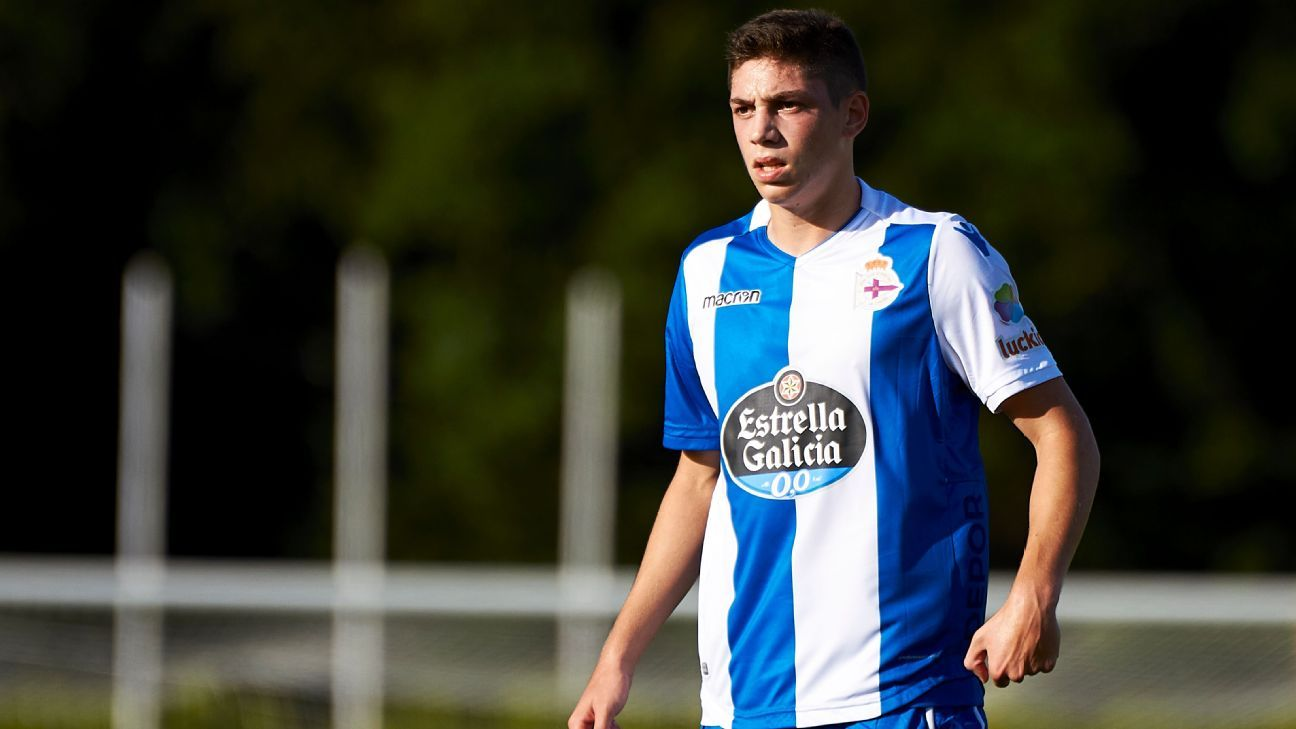 Deportivo hoping to keep Real Madrid youngster Fede Valverde