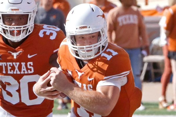 Longhorns name Sam Ehlinger starting quarterback