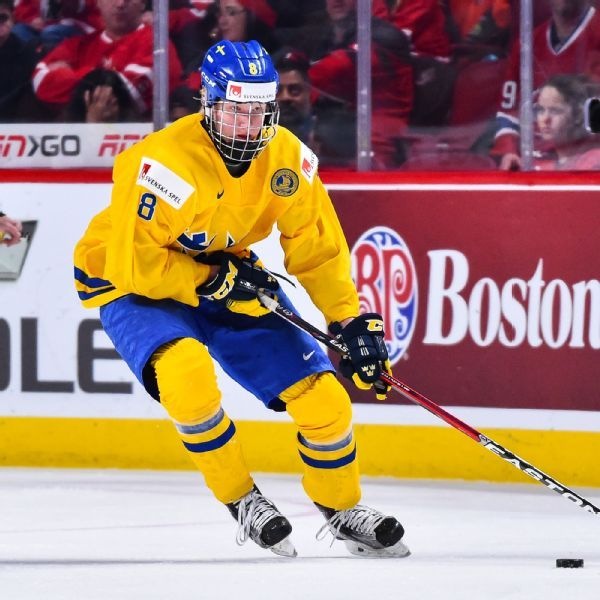 Sabres sign top pick, defenseman Rasmus Dahlin