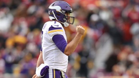 Case Keenum, Minnesota Vikings, 2017, NFL