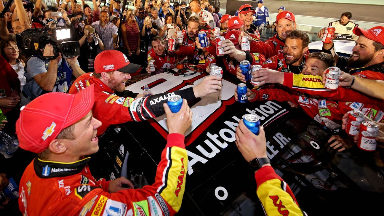 Dale Earnhardt Jr. savors final NASCAR Cup Series race -- 'My time has passed and I am cool with ...