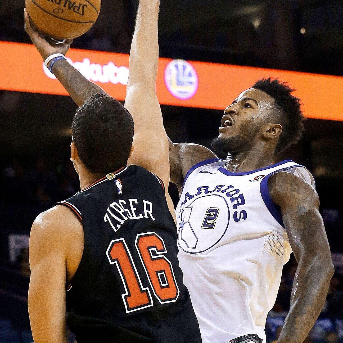 Klay Thompson, Steph Curry push Warriors past pesky Bulls