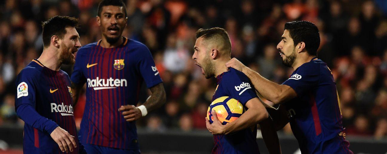 La renovación de Jordi Alba con el Barcelona podría complcarse