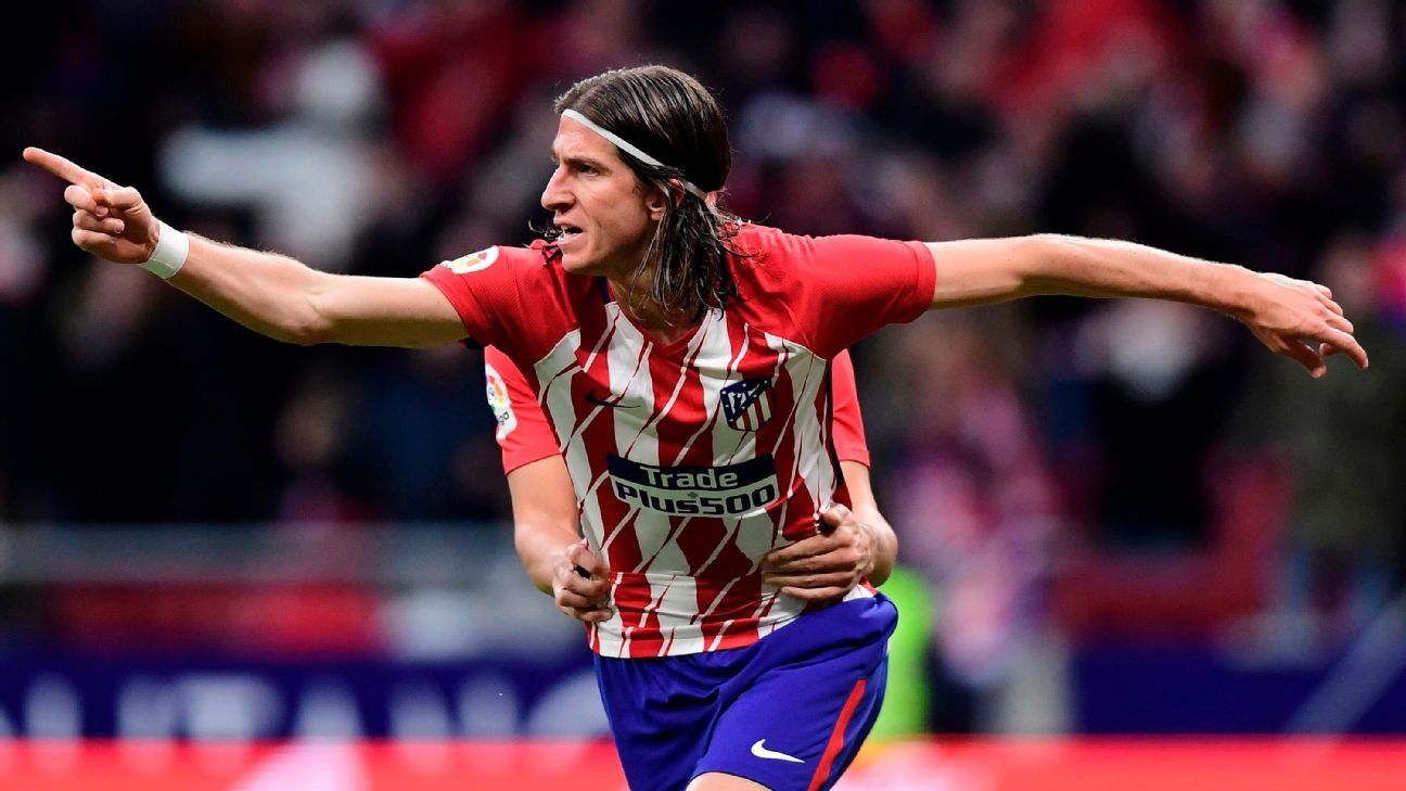 Atletico Madrid's Diego Simeone: I don't want Filipe Luis to leave for PSG