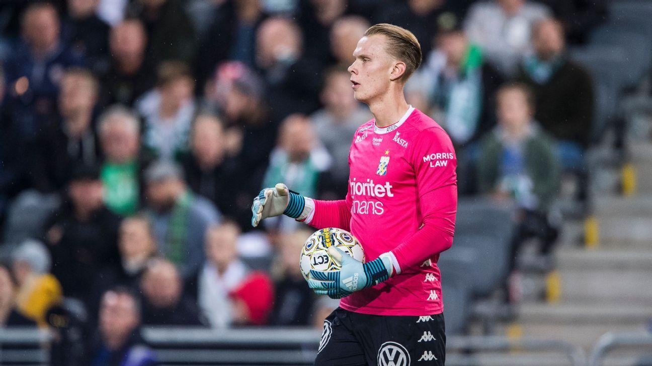 Watford in talks over £2.9 million move for IFK Goteborg's Pontus Dahlberg