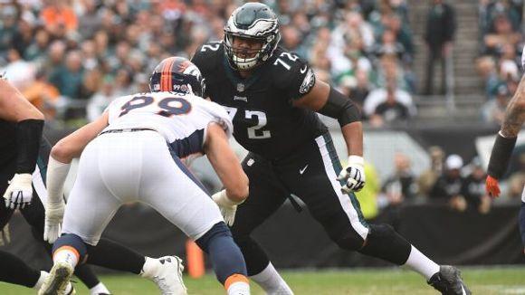 Halapoulivaati Vaitai, Philadelphia Eagles, 2017, NFL