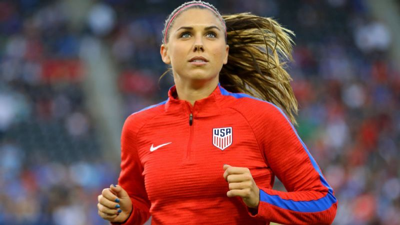 ff88d1e973d U.S. women s national team star Alex Morgan is back at the top of ...