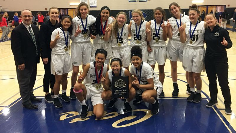 the best attitude 3a7da 4a12c Haley Jones lifts Archbishop Mitty to title at 2017 Nike Tournament ...
