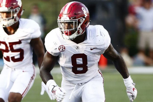 Dylan Moses' sideline crash into wall, security guard prompts changes at Bryant-Denny Stadium