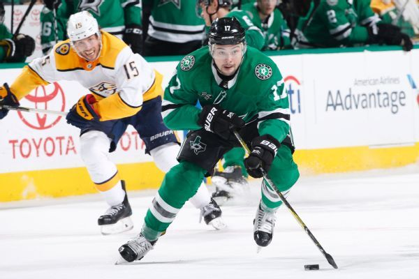 Stars re-sign forward Devin Shore to 2-year, $4.6M deal
