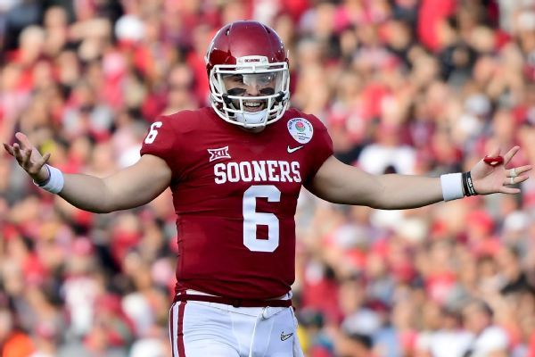 Baker Mayfield rejects comparisons to Johnny Manziel