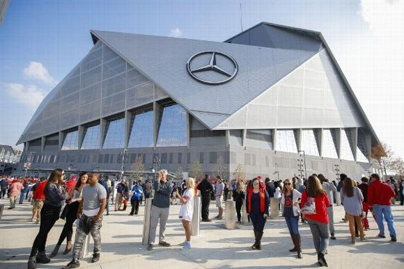College football playoff national championship is at home for Will call mercedes benz stadium