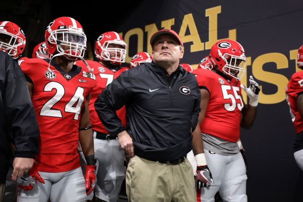 Georgia coach Kirby Smart not haunted by title-game loss