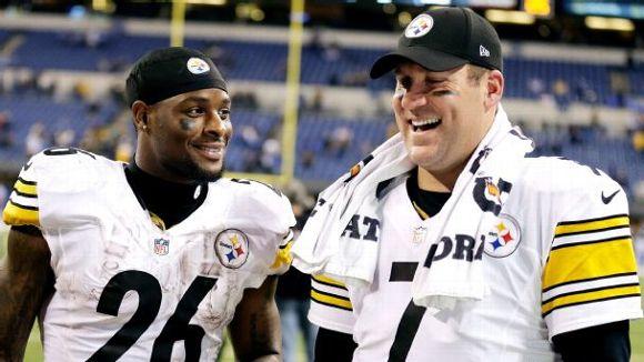 Le'Veon Bell, Ben Roethlisberger, 2018, NFL, Pittsburgh Steelers