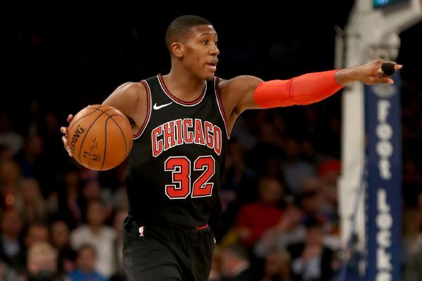 Bulls PG Kris Dunn out 4-6 weeks with MCL sprain