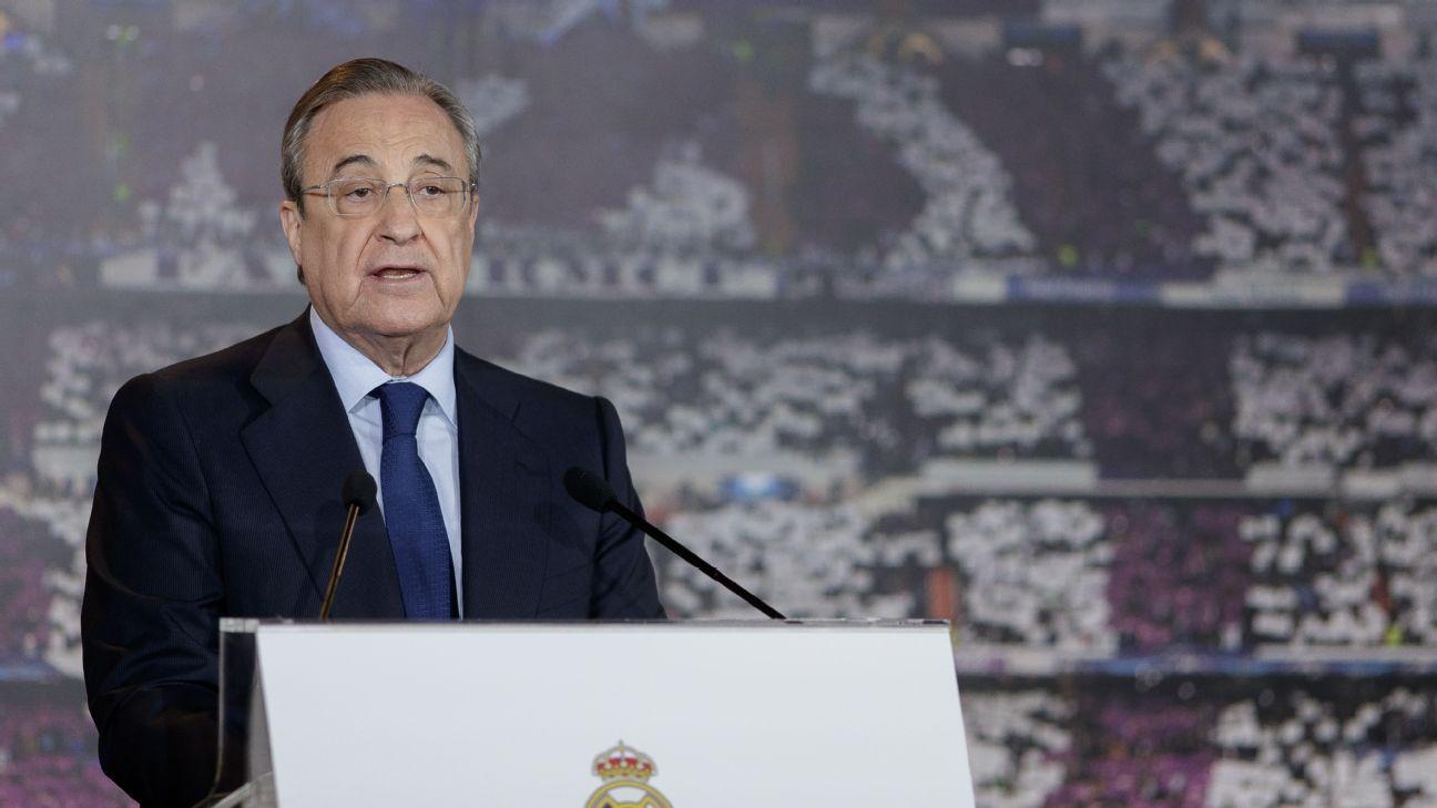 Real Madrid will 'categorically refuse' U.S. La Liga game - Florentino Perez