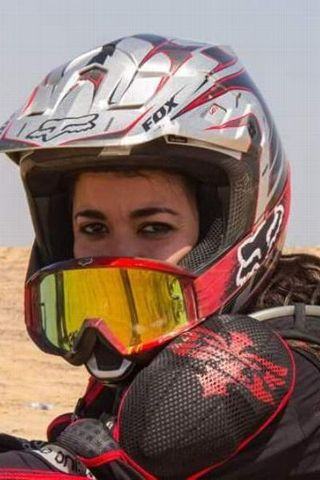 Yara Shalaby has always been an adventure junkie. The single mom also loves parachuting, parasailing and mountain climbing.