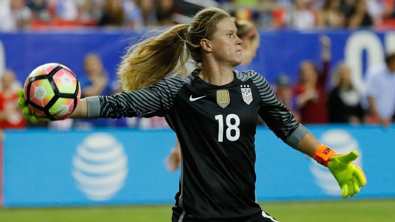 Alyssa Naeher a quiet but comfortable presence in the net for U.S. women b3f73d467