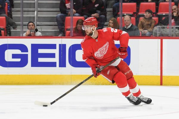 Red Wings' Mike Green dealing with fatigue, set for more tests