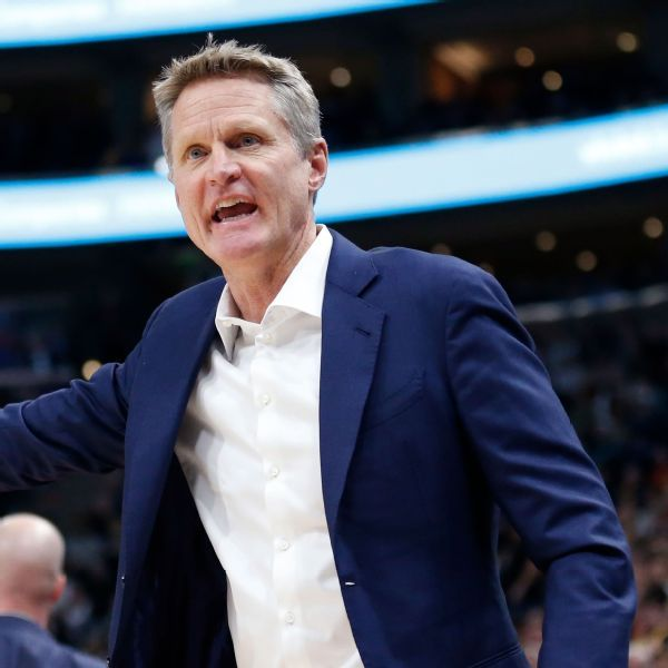 Steve Kerr rips NFL's new national anthem policy